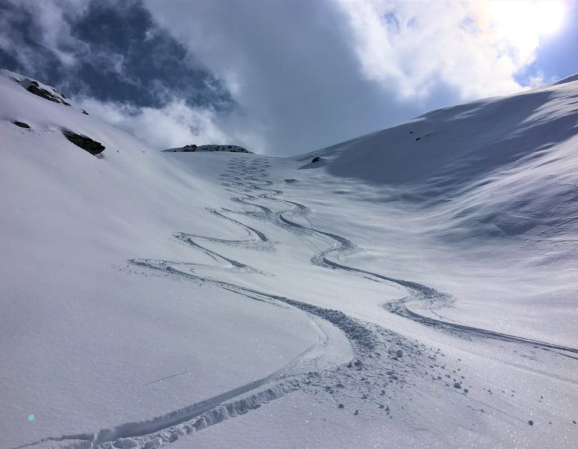 Cours de ski hors piste